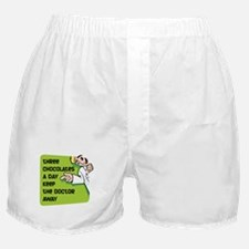 Keep Doctor Away Boxer Shorts