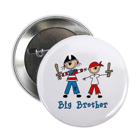 "Stick Pirates Big Brother 2.25"" Button"