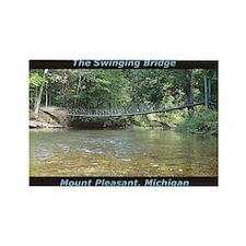 Swinging Bridge Custom Rectangle Magnet (10 pack)