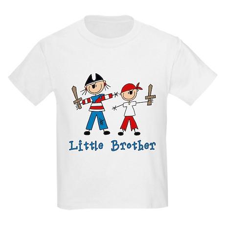 Stick Pirates Little Brother Kids Light T-Shirt