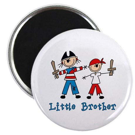 Stick Pirates Little Brother Magnet