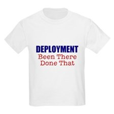 Deployment BTDT Kids T-Shirt