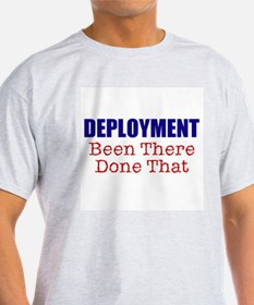 Deployment BTDT Ash Grey T-Shirt