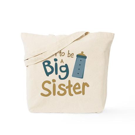 Big Sister To Be Tote Bag