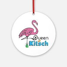 Queen of Kitsch Ornament (Round)