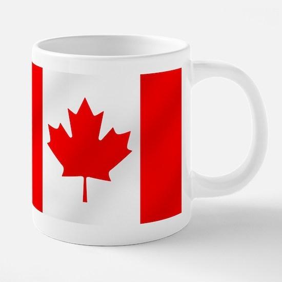 Flag of Canada 20 oz Ceramic Mega Mug