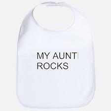 My Auntie Rocks Bib