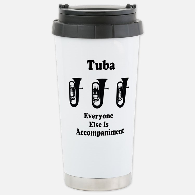 Cute Tuba player Travel Mug