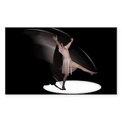 Dance Rectangle Decal