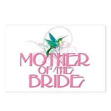 Hummingbird Mother of Bride Postcards (Pkg of 8)