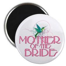 "Hummingbird Mother of Bride 2.25"" Magnet (10 pack)"