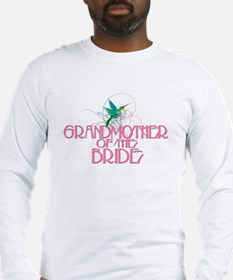 Hummingbird Grandmother Bride Long Sleeve T-Shirt