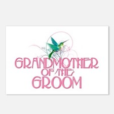 Hummingbird Grandmother Groom Postcards (Pk of 8)