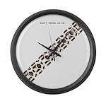 Tread Large Wall Clock