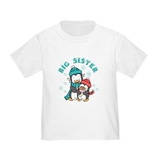 Cute Penguins Big Sister T