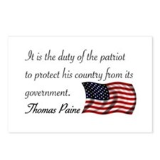 Duty of a Patriot Postcards (Package of 8)