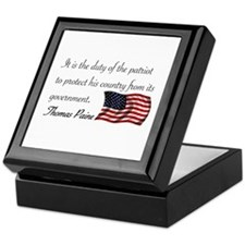 Duty of a Patriot Keepsake Box