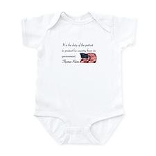 Duty of a Patriot Infant Bodysuit
