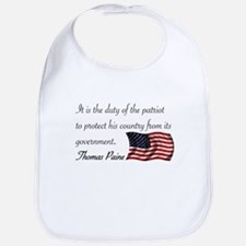 Duty of a Patriot Bib