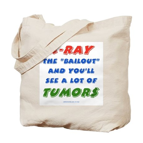 X-RAY BAILOUT Tote Bag