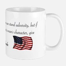 Test a Man's Character Mug