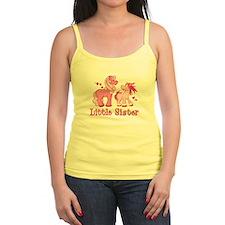 Pink Ponys Little Sister Jr.Spaghetti Strap