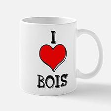 I Heart Bois Mug