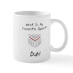 Favorite Sport Mug