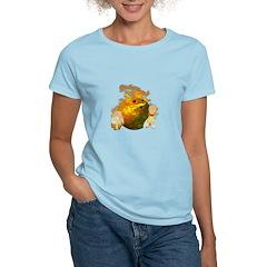 Flaming Bowling Ball T-Shirt