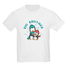 Cute Penguins Big Brother T-Shirt