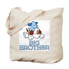 Cute Puppys Big Brother Tote Bag
