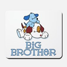Cute Puppys Big Brother Mousepad