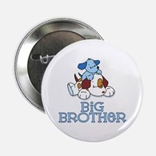 "Cute Puppys Big Brother 2.25"" Button"