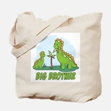 Dino Duo Big Brother Tote Bag