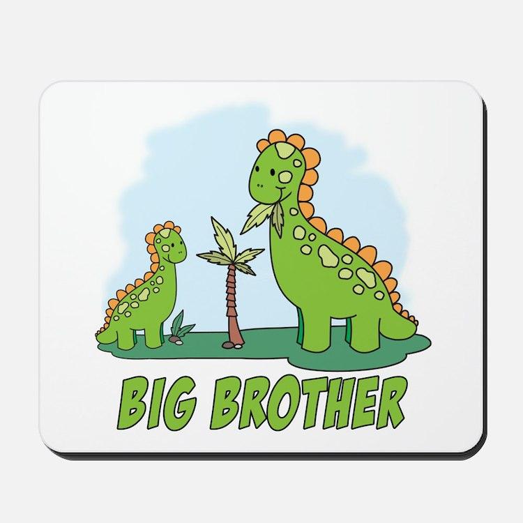 Dino Duo Big Brother Mousepad