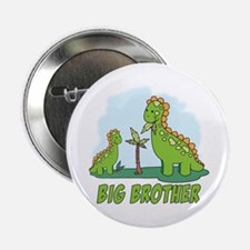 "Dino Duo Big Brother 2.25"" Button"
