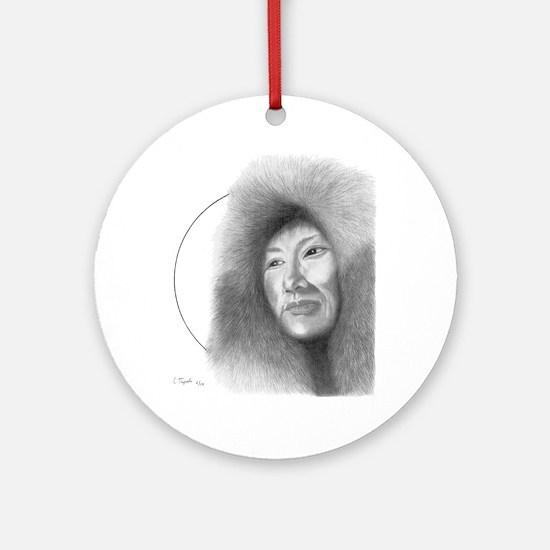 Eskimo Ornament (Round)