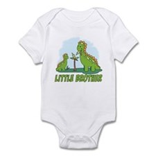 Dino Duo Little Brother Infant Bodysuit