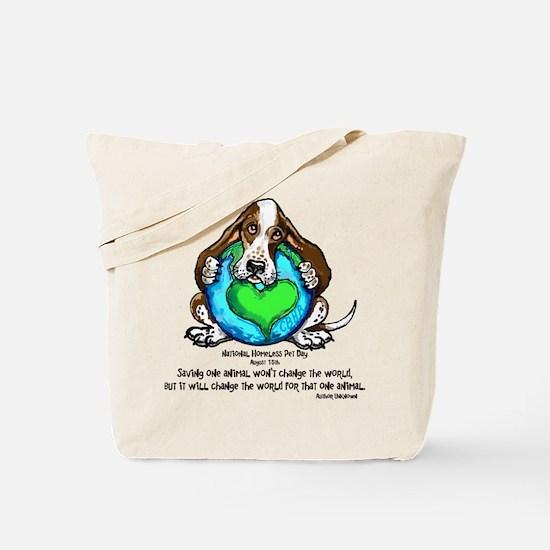Cute Alaska dog and cat rescue Tote Bag