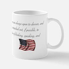 Freedom of thinking, speaking Mug