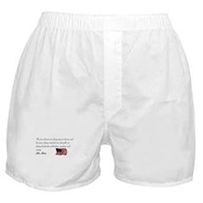 Freedom of thinking, speaking Boxer Shorts