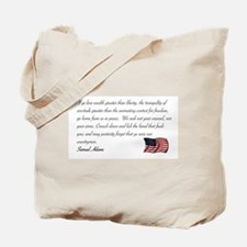 We seek not your counsel Tote Bag