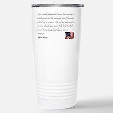 We seek not your counsel Travel Mug