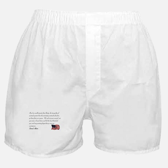 We seek not your counsel Boxer Shorts