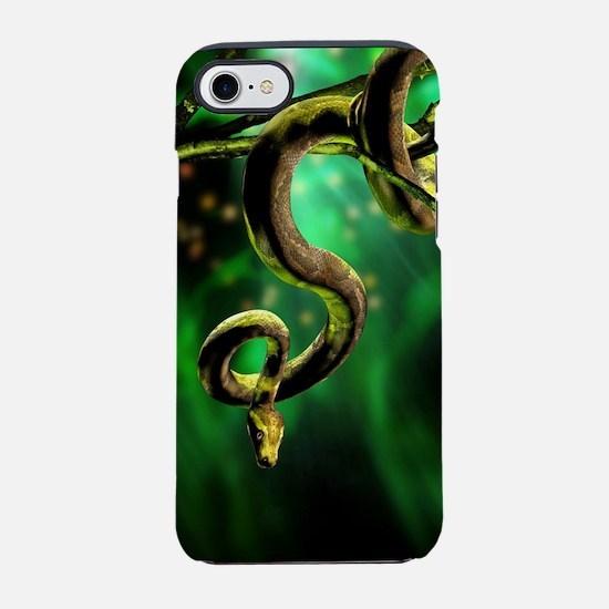 Python Snake iPhone 7 Tough Case