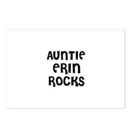 AUNTIE ERIN ROCKS Postcards (Package of 8)