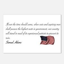 Experienced Patriots Needed Postcards (Package of