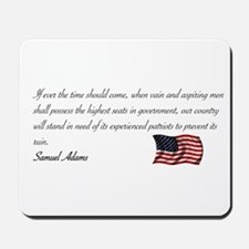 Experienced Patriots Needed Mousepad