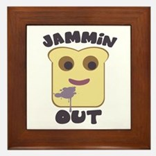 Jammin' Out Framed Tile