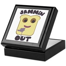 Jammin' Out Keepsake Box